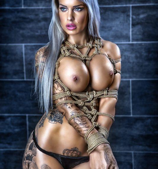 Vanessa Louis – Bondage, Tattoo Model