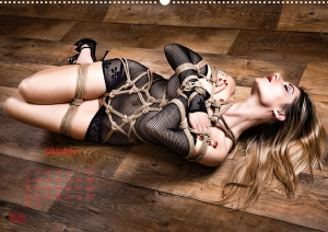 Calendar 2017 - Beauty of Rope I - Fine Art of Bondage