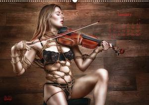 Calendar 2017 - Beauty of Rope II - Fine Art of Bondage