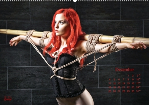Calendar 2017 - Beauty of Rope II - Fine Art of Bondage