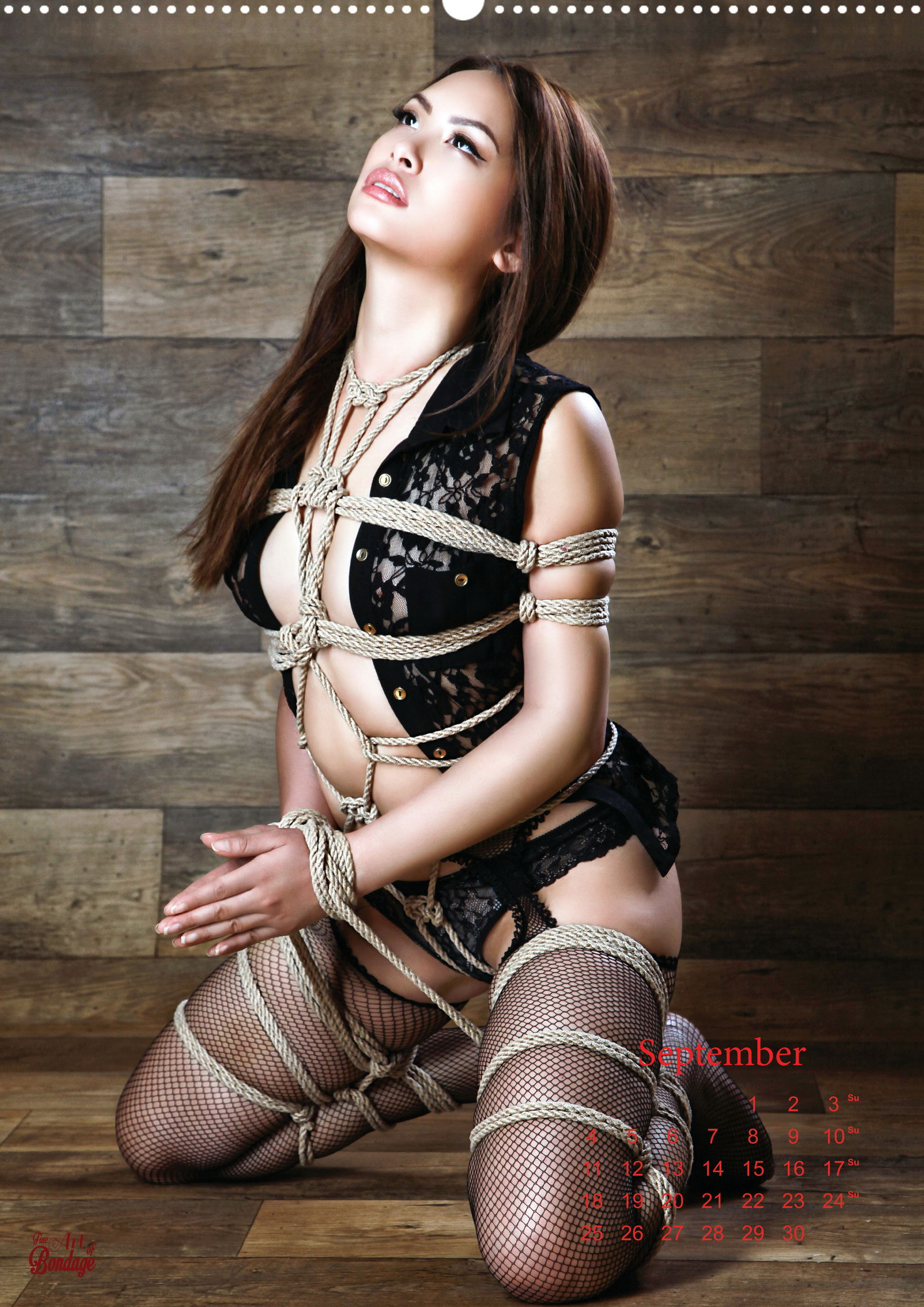 bondage female rope
