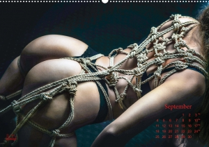 Calendar 2017 - Beauty of Rope IV - Fine Art of Bondage