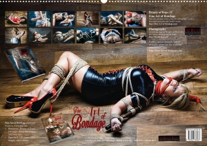 Calendar 2017 - Beauty of Rope IV - Fine Art of Bondage