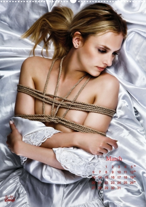 Calendar 2017 - Beauty of Rope V - Fine Art of Bondage