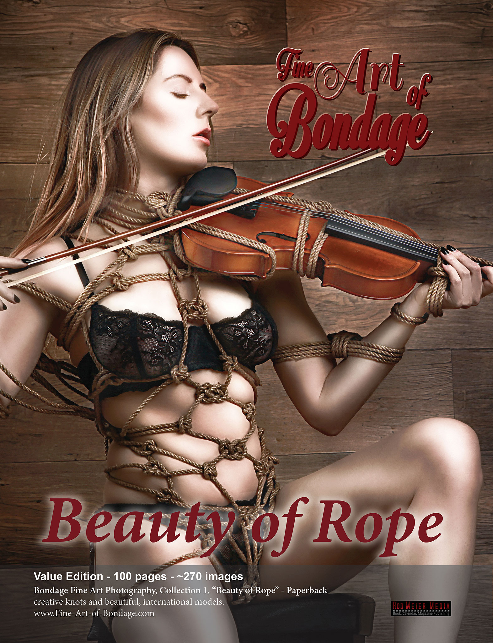 Fine Art of Bondage: Beauty of Rope, Value Edition
