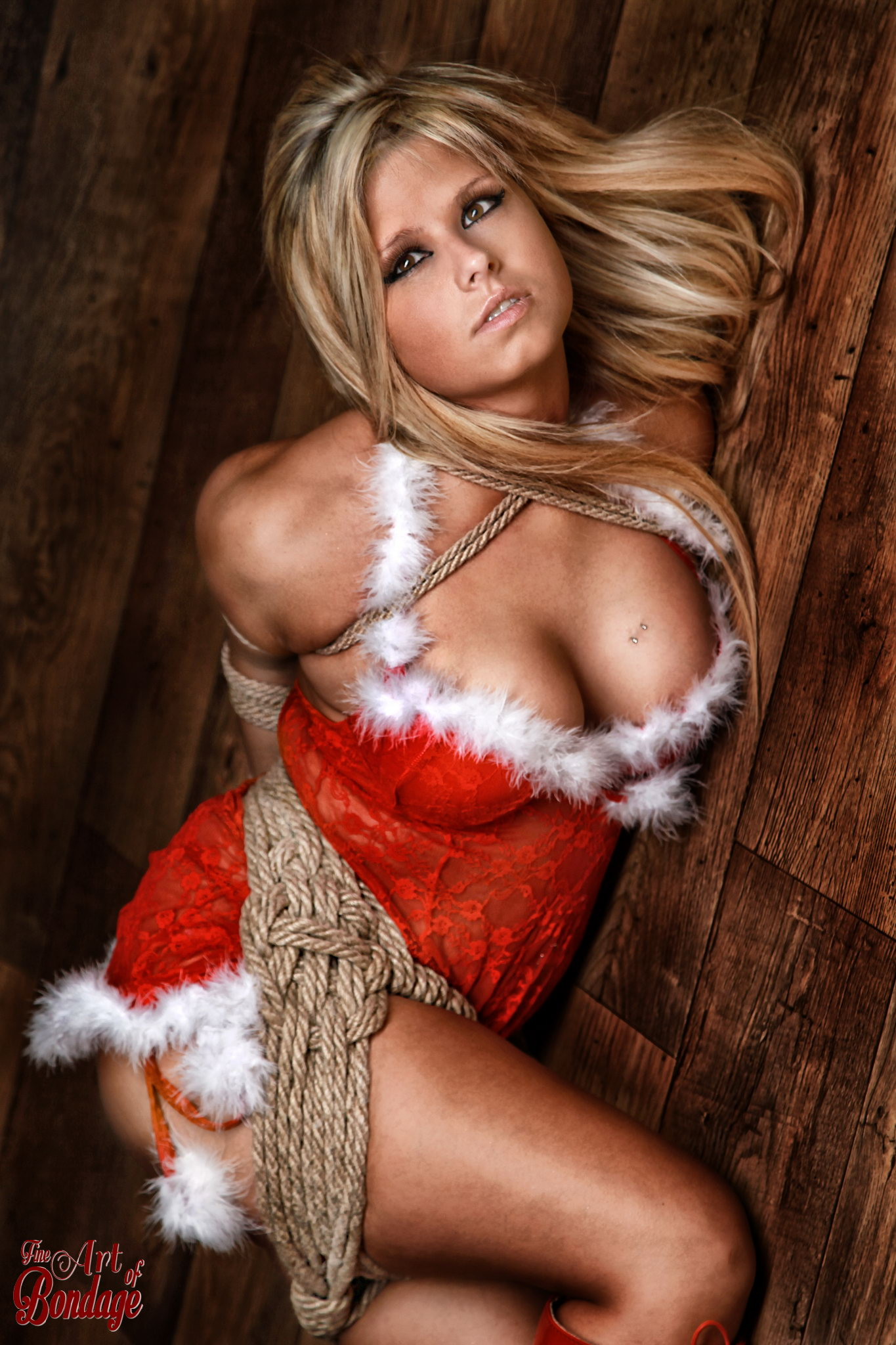 Merry Christmas - Fine Art Of Bondage-7282