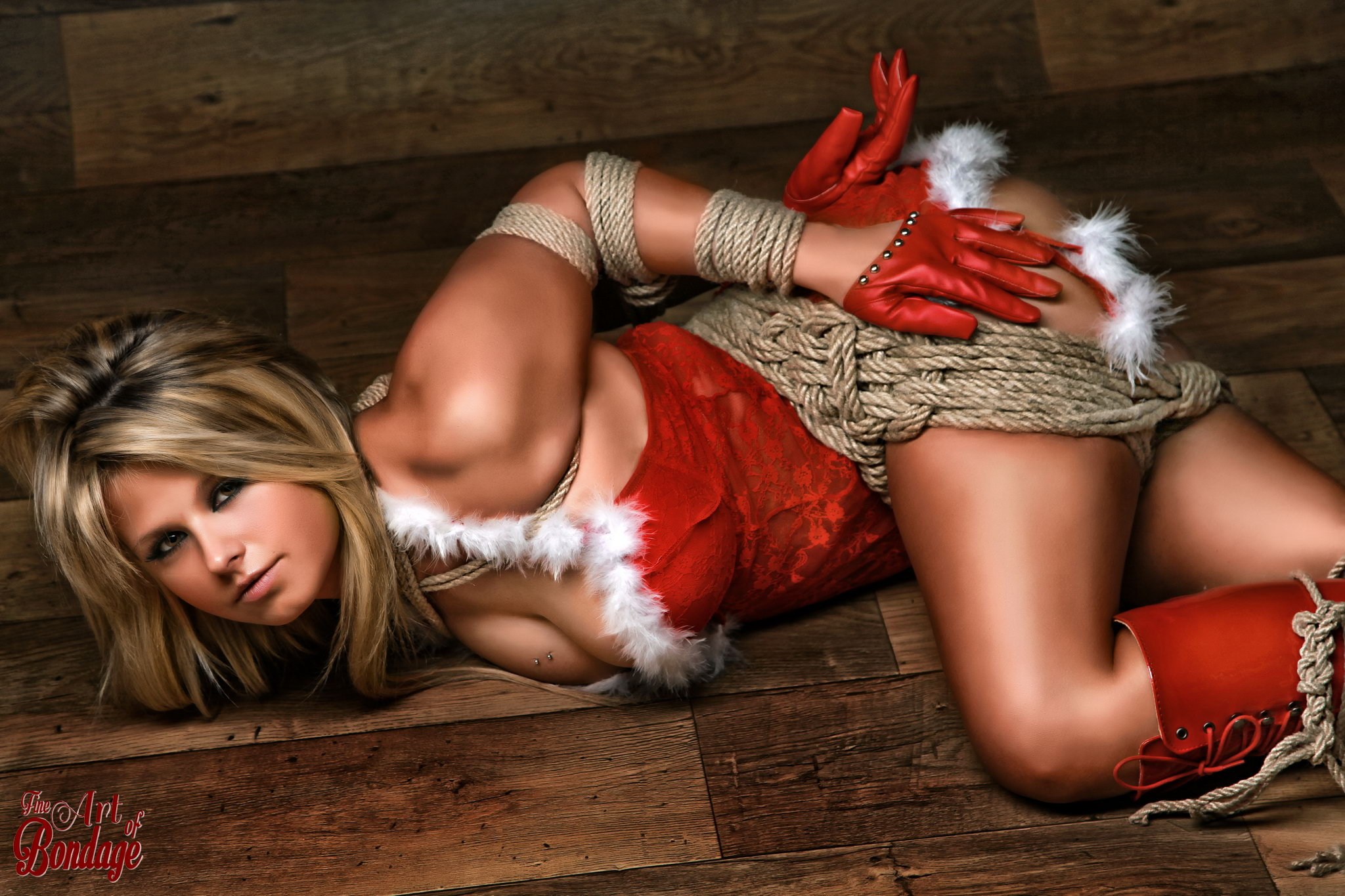 Merry Christmas - Fine Art Of Bondage-3171