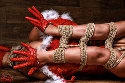 Christmas Gallery - Fine Art of Bondage