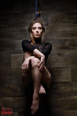 Hair Bondage - Samantha Bentley / the BadBentley - FIne Art of Bondage
