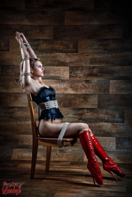 Chair Bondage - Fine Art of Bondage