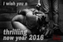 Wish you a happy and thrilling new year 2016 - Fine Art of Bondage