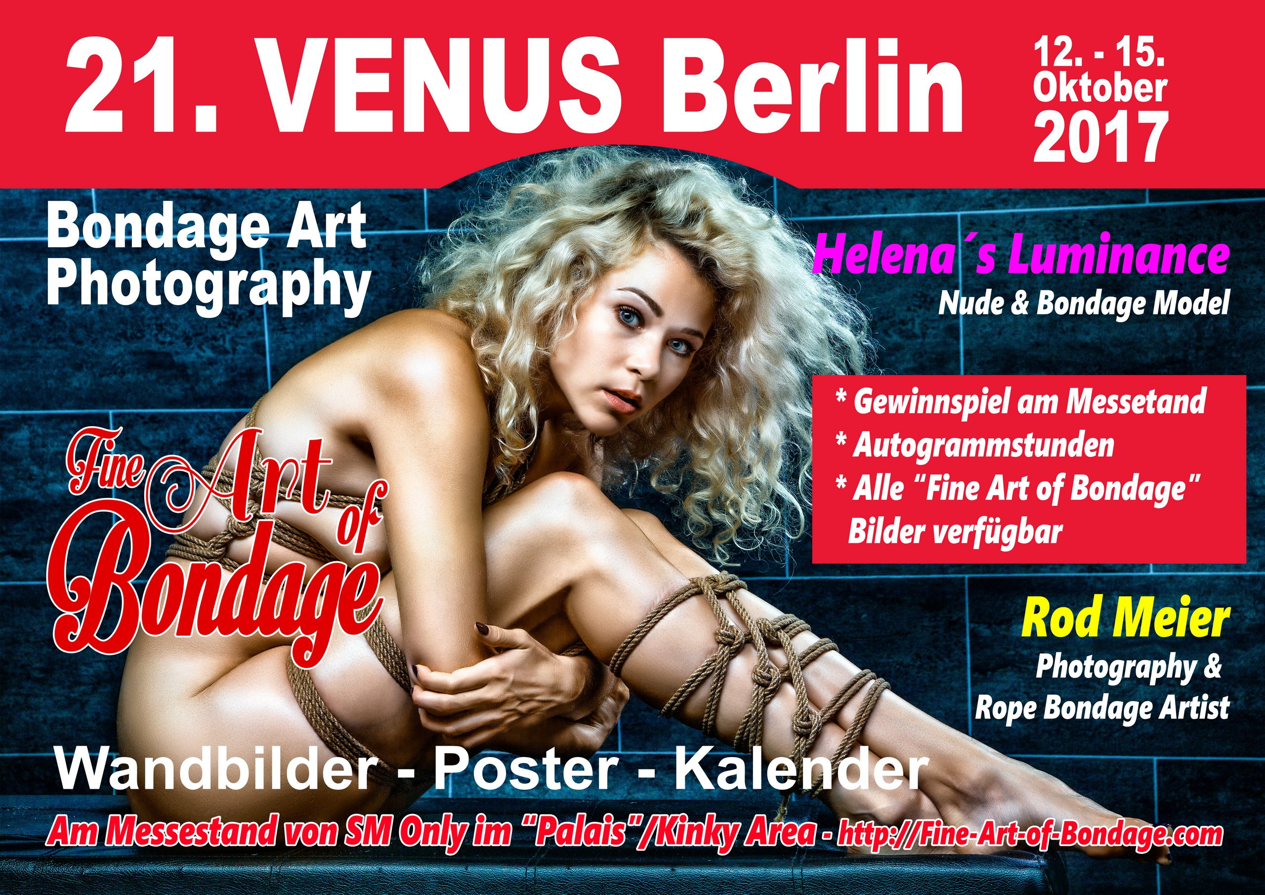 21. Venus Berlin - Fine Art of Bondage auf der Venus Messe Berlin