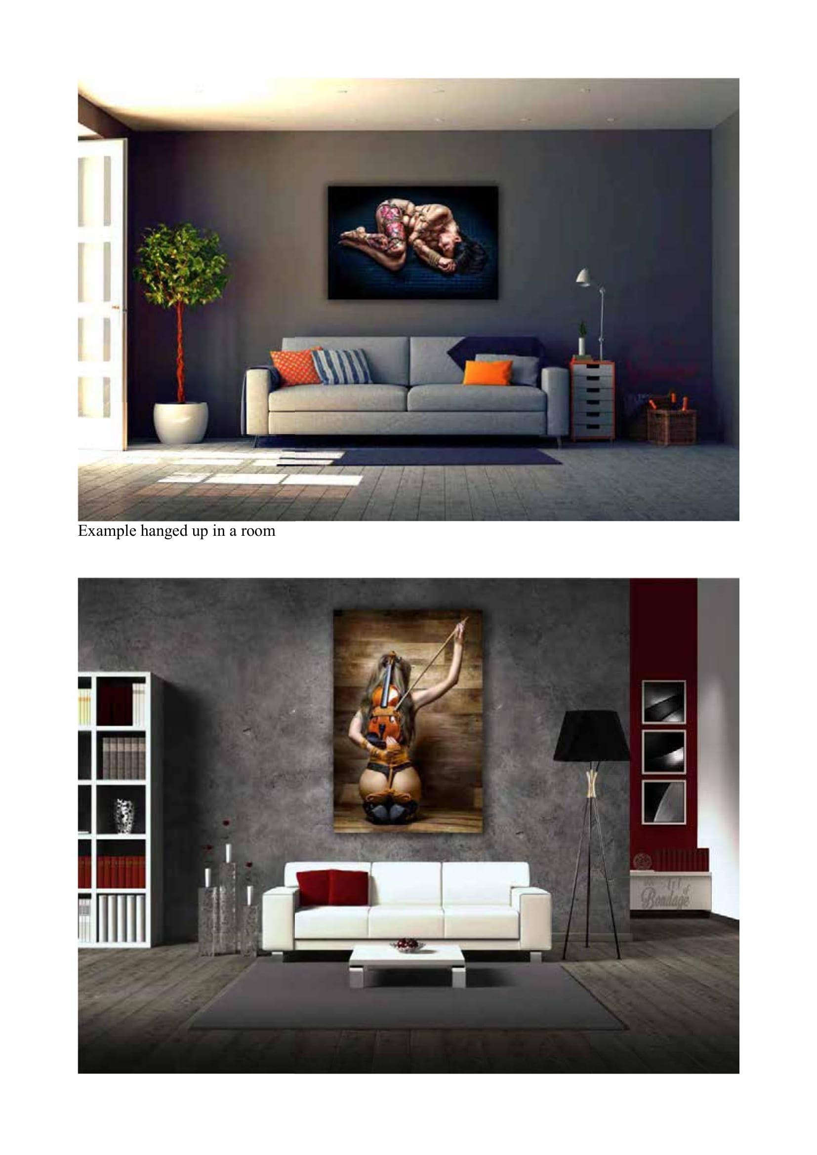 Wall Art - Fine Art of Bondage - Catalog