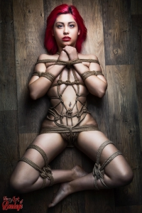 1959 - Tied Redhead on Floor