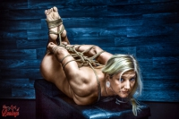 6153 - Hogtied nude