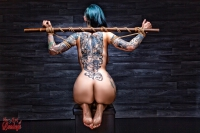 7194 - Tied Tattoo Girl