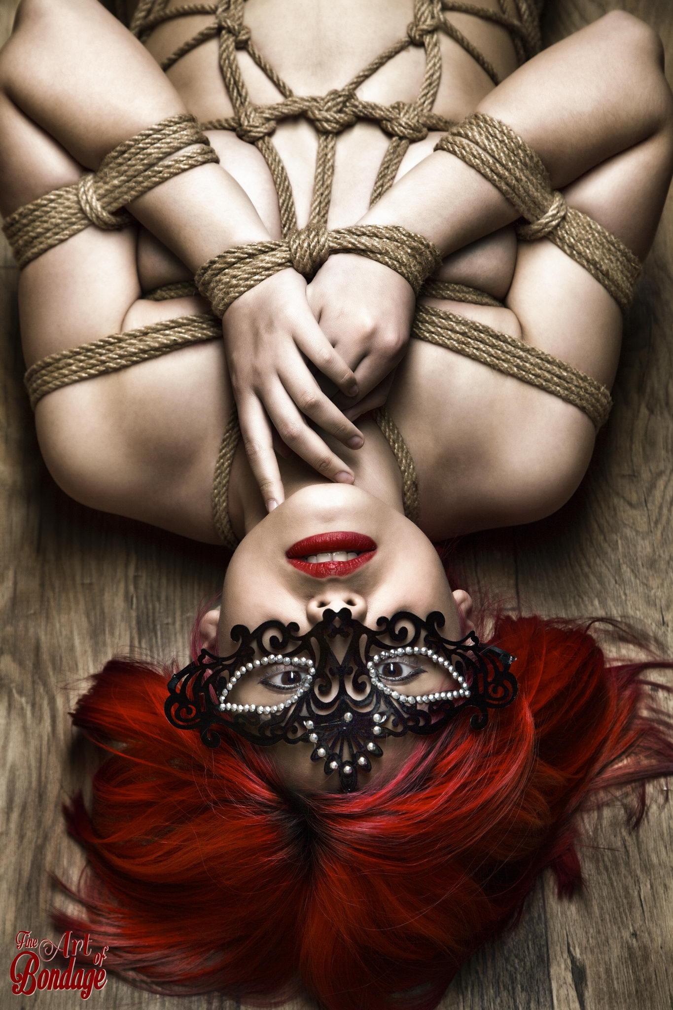 2013 - Tied redhead on floor