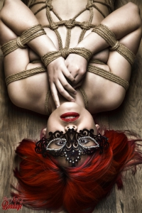 2013 - Tied redhead on floor