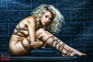 8322 - Full tied up Beauty