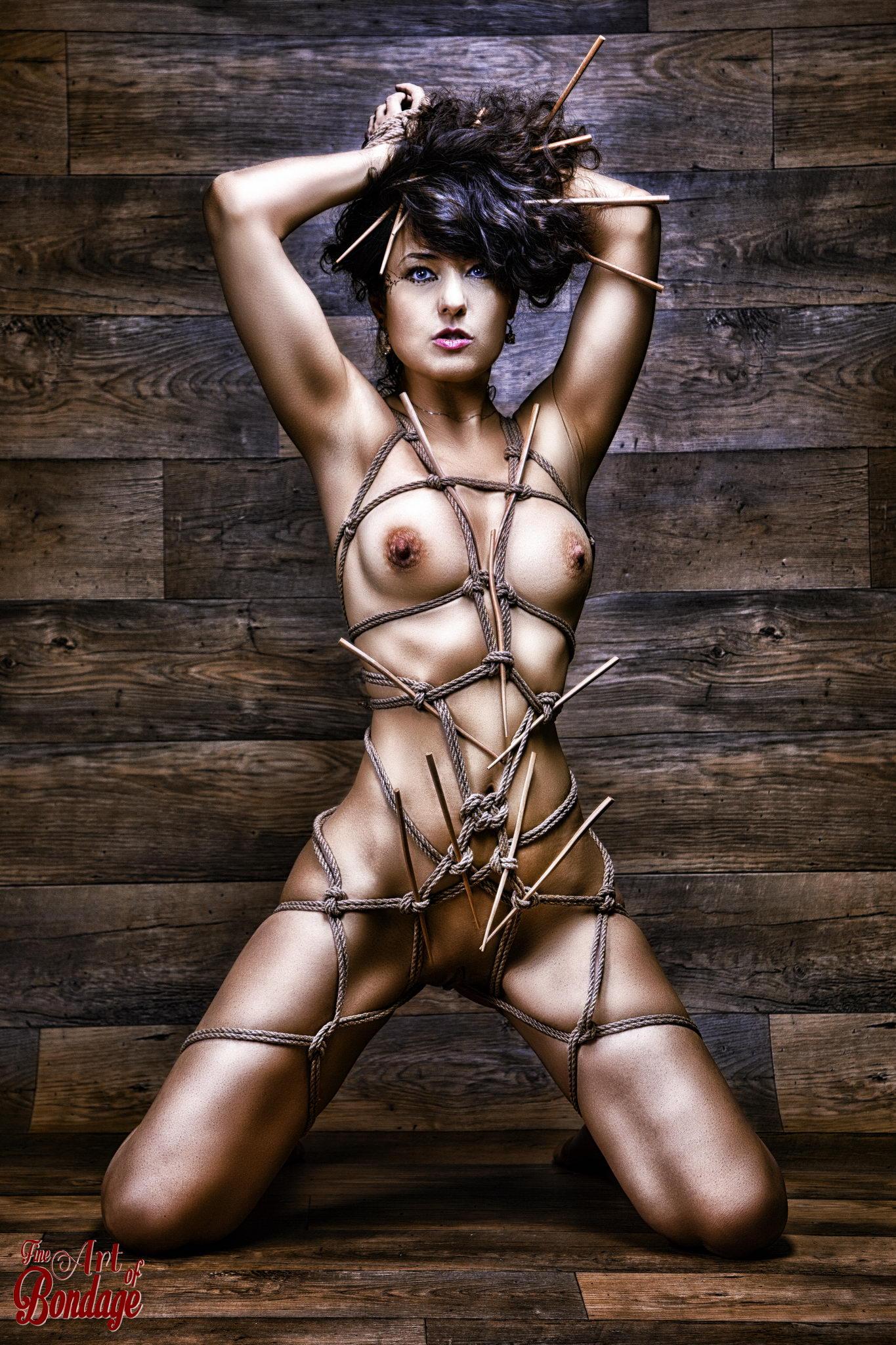 2251 - Harness, Bamboo Sticks