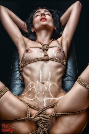 7529 - Tied up and Splashed
