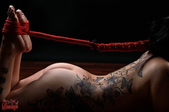 Hair Bondage - Hair to feet - Fine Art of Bondage